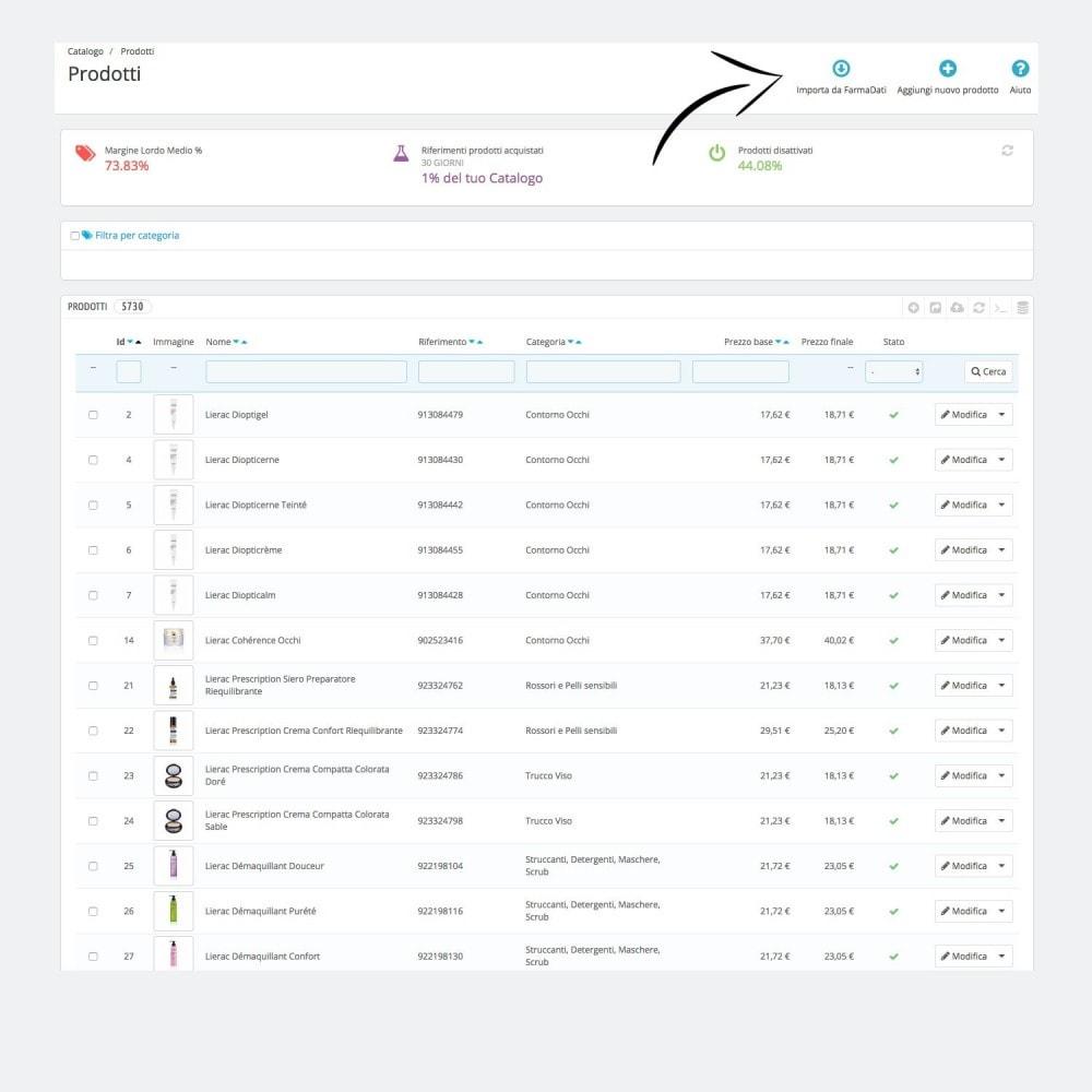 module - Importeren en Exporteren van data - Farmadati product import - 1