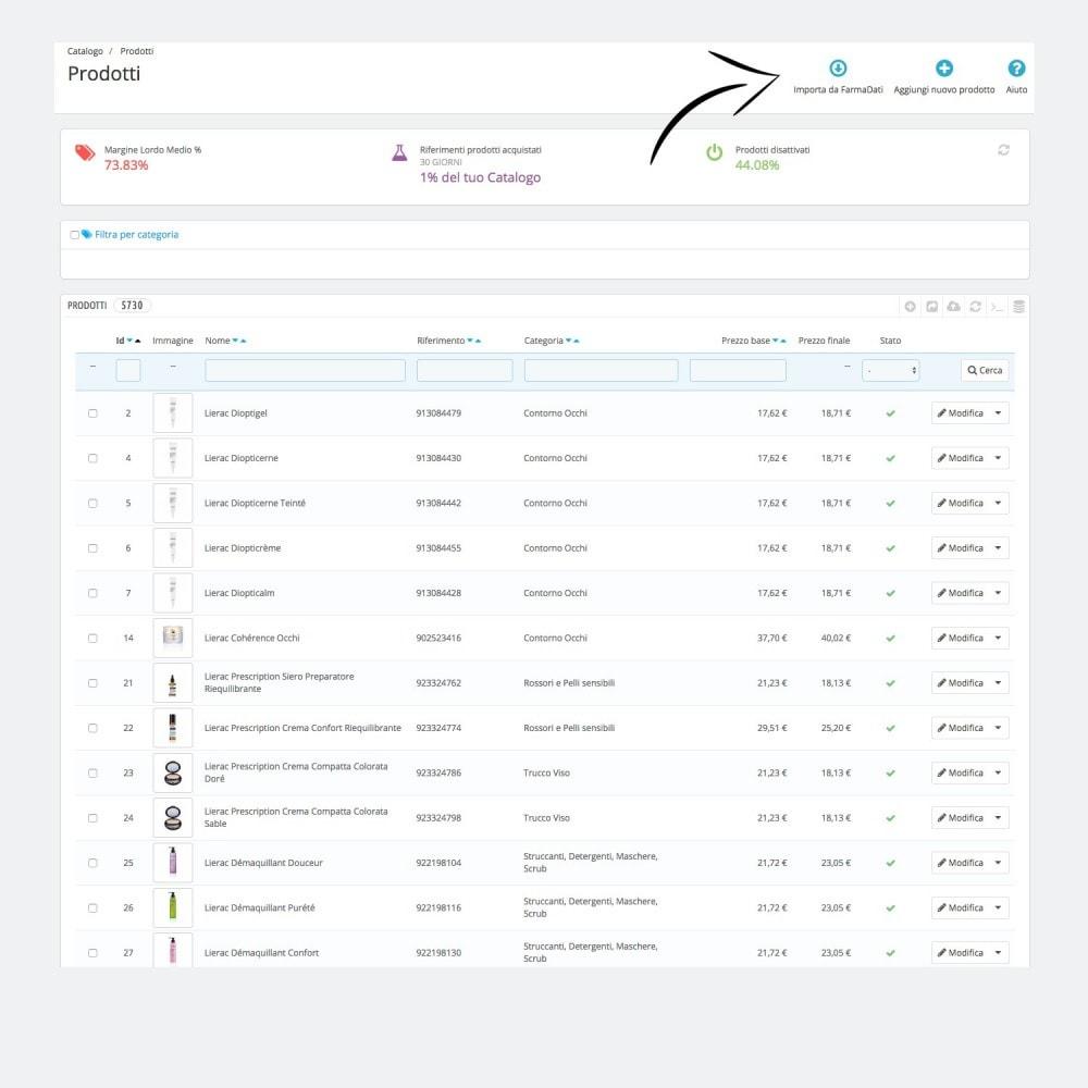 module - Data Import & Export - Importazione Prodotti FarmaDati - 1