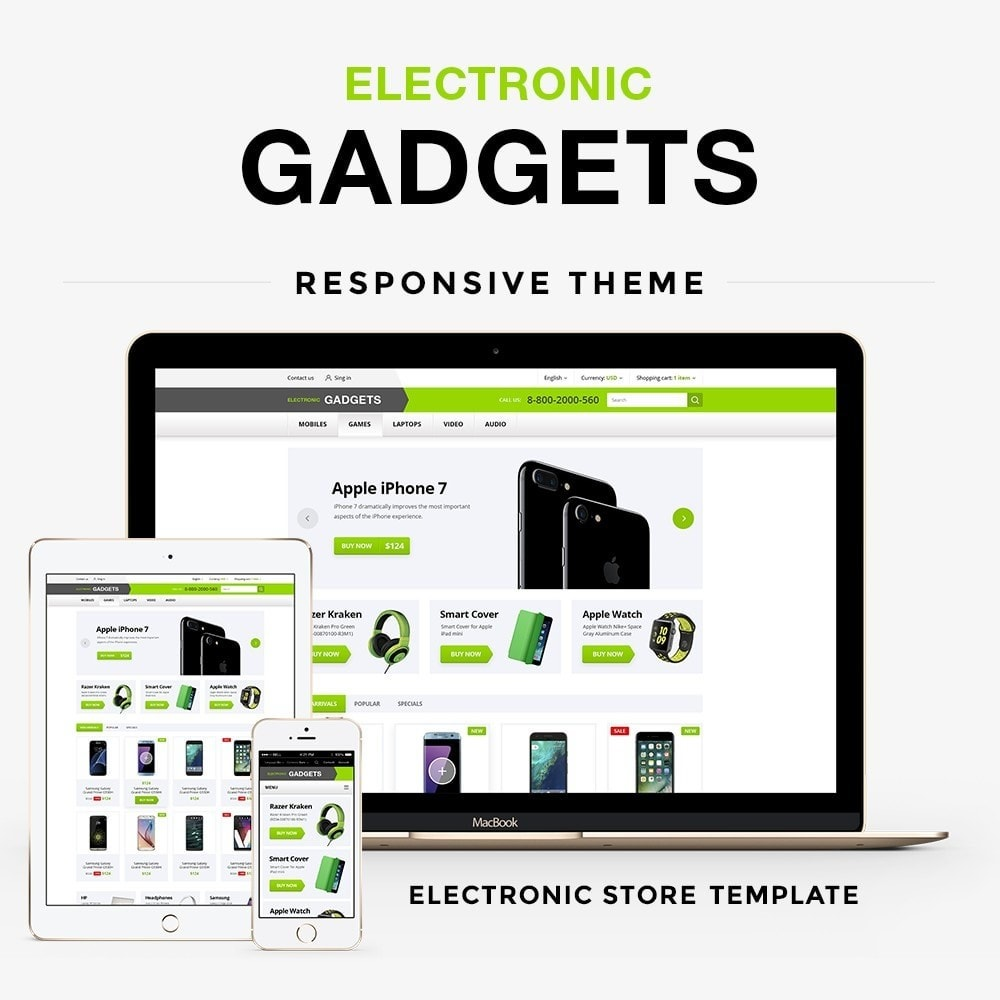theme - Electronique & High Tech - Electronic gadgets - 1