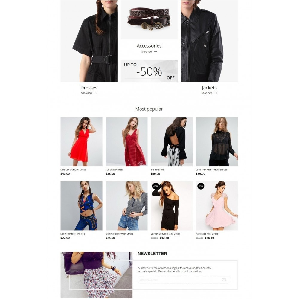 theme - Мода и обувь - Altrezo Fashion Store - 3
