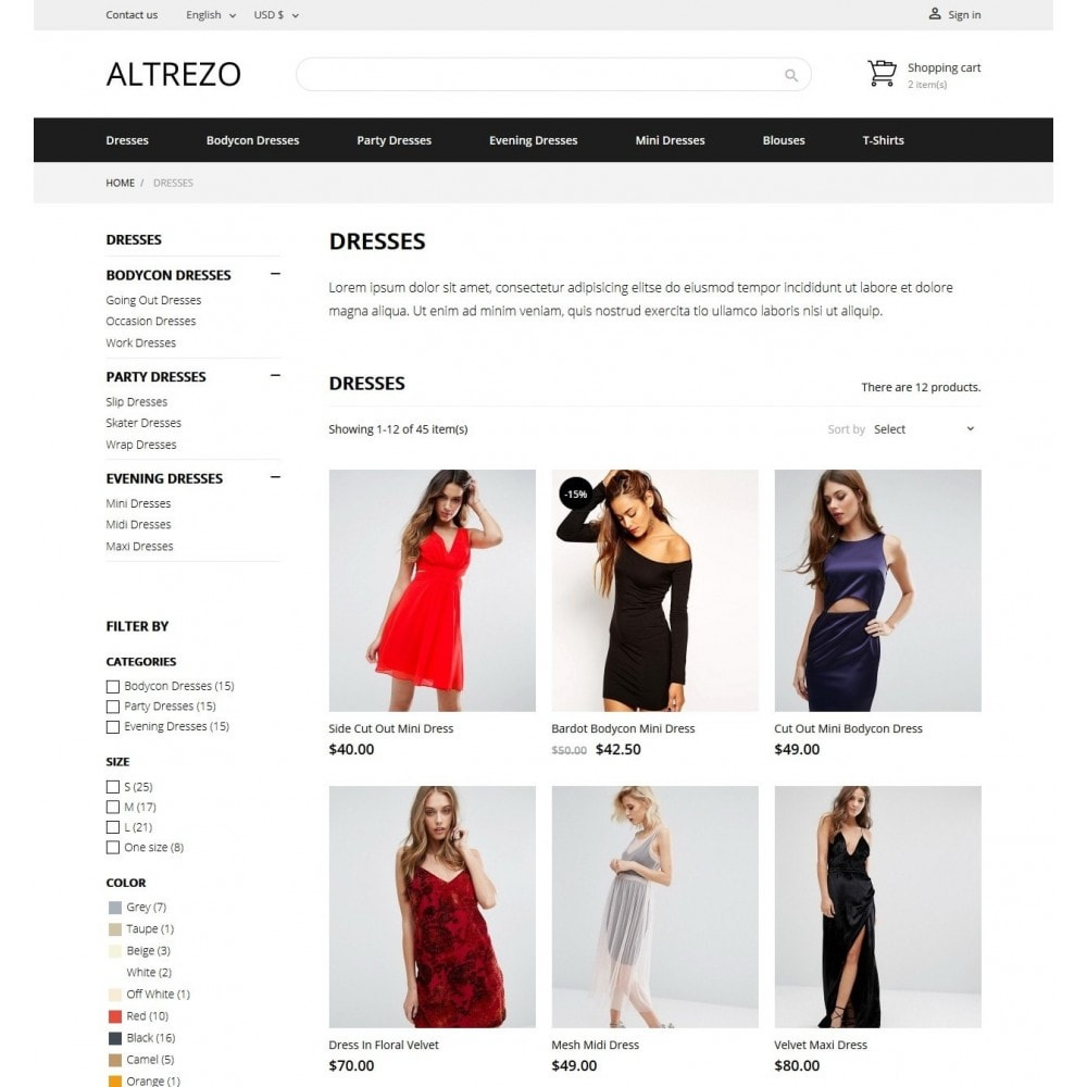 theme - Мода и обувь - Altrezo Fashion Store - 4