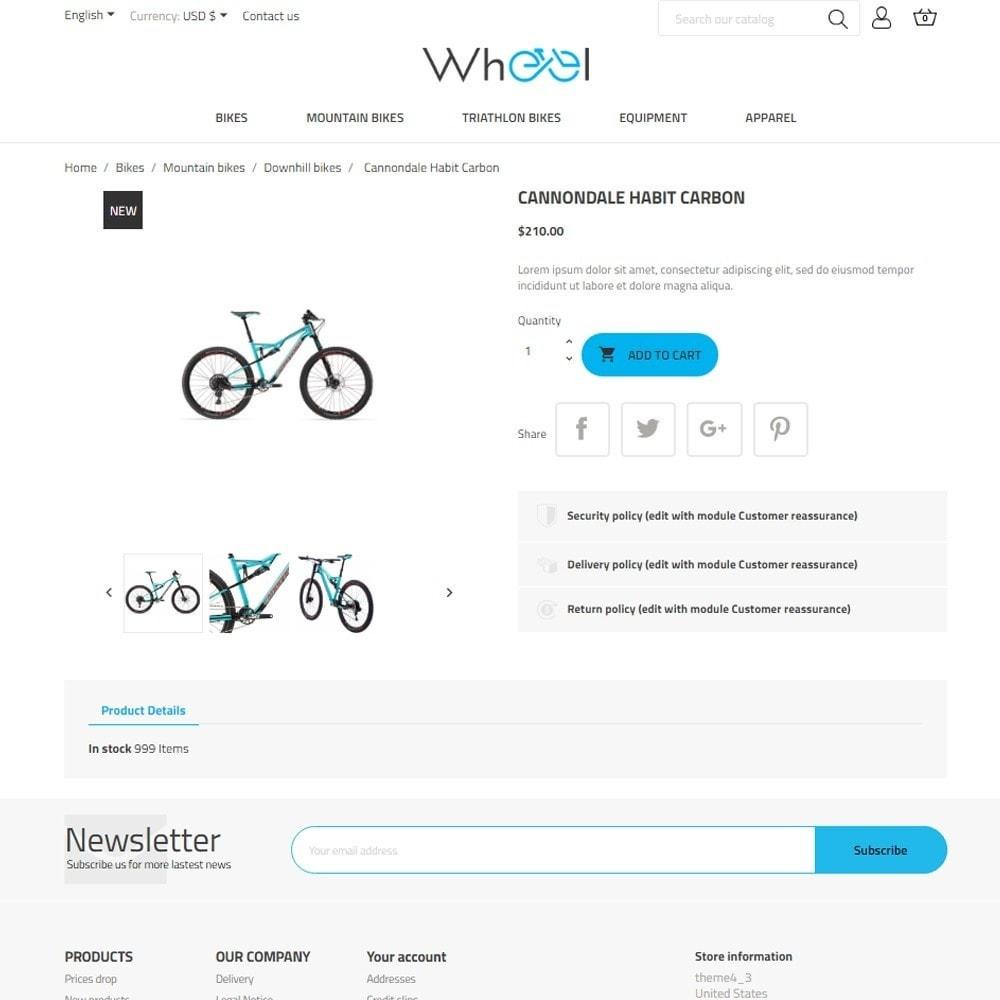 theme - Sport, Aktivitäten & Reise - Wheel - 6