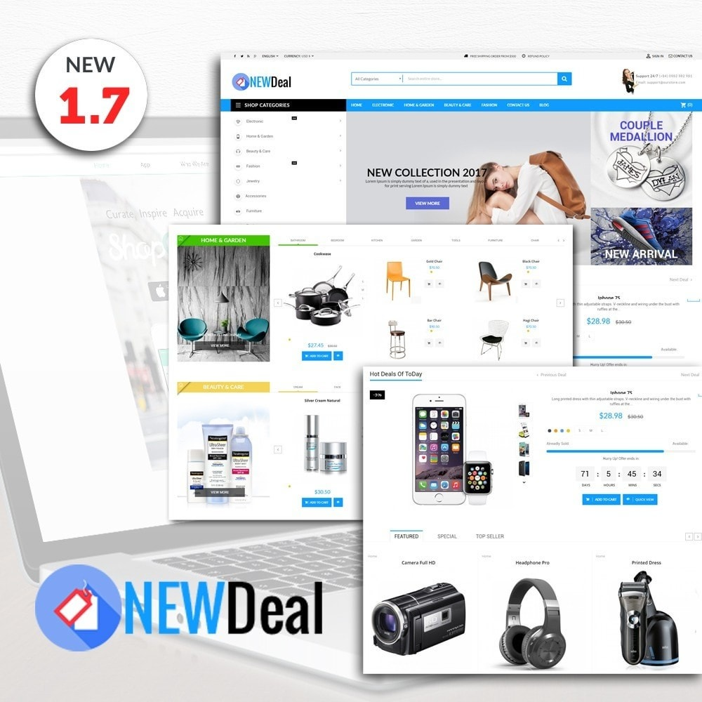 theme - Elektronika & High Tech - New Deals Super Market - 1