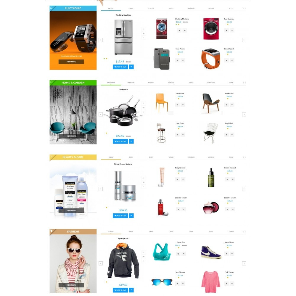 theme - Electronique & High Tech - New Deals Super Market - 3