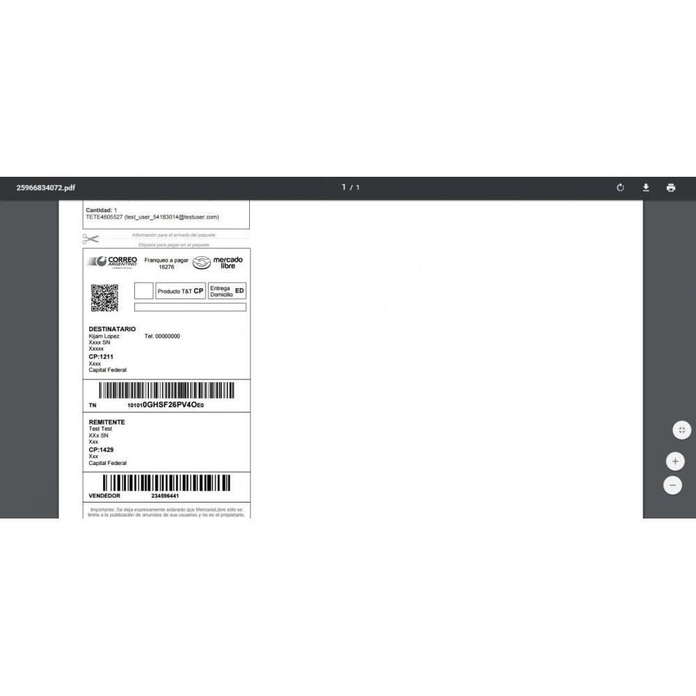 module - Pago con Tarjeta o Carteras digitales - MercadoPago y MercadoEnvios para México - 16
