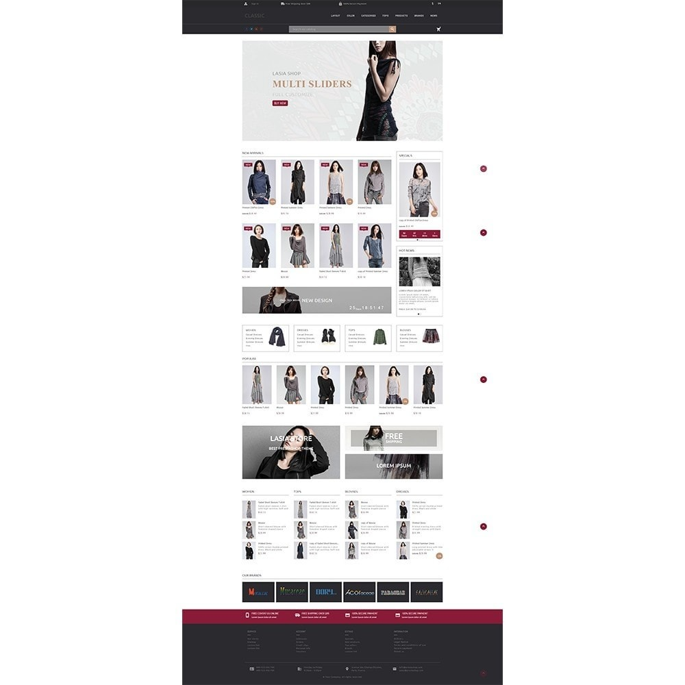theme - Мода и обувь - Lasia Fashion Store - 2