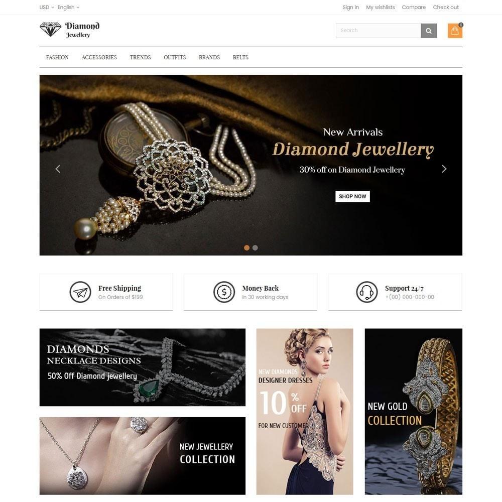 theme - Ювелирные изделия и Аксессуары - Diamond Jewellery Store - 2