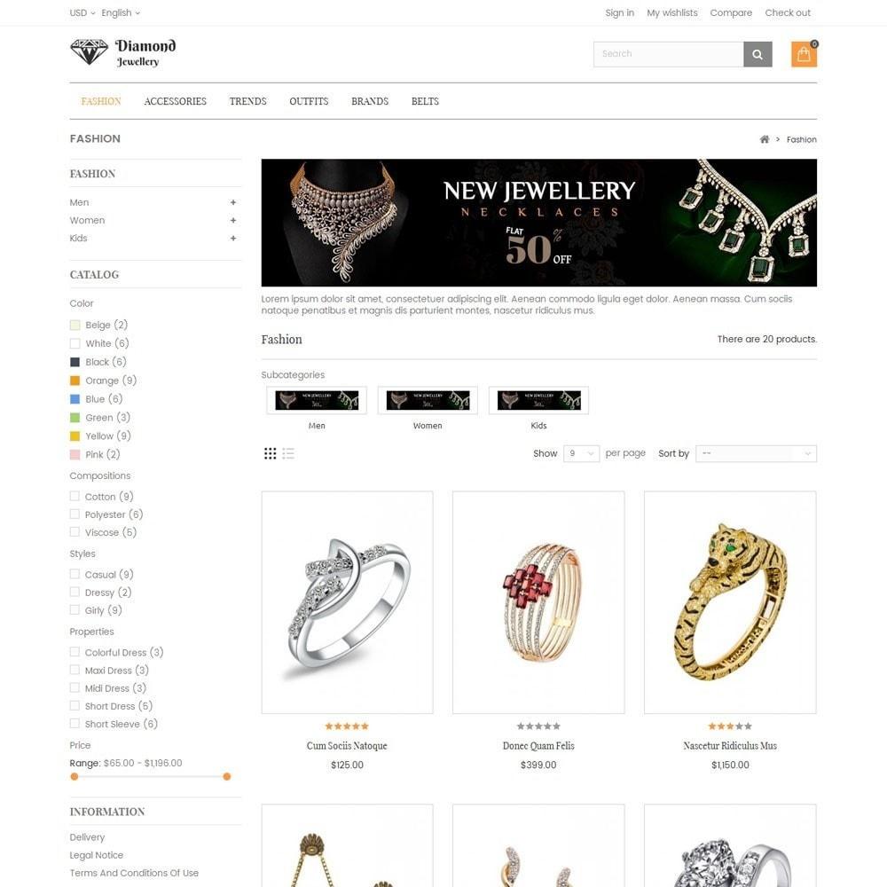 theme - Ювелирные изделия и Аксессуары - Diamond Jewellery Store - 3