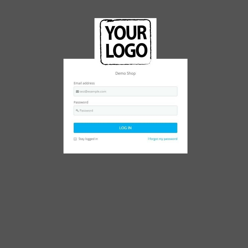 module - Amministrazione - Admin Login Page Customization - 2
