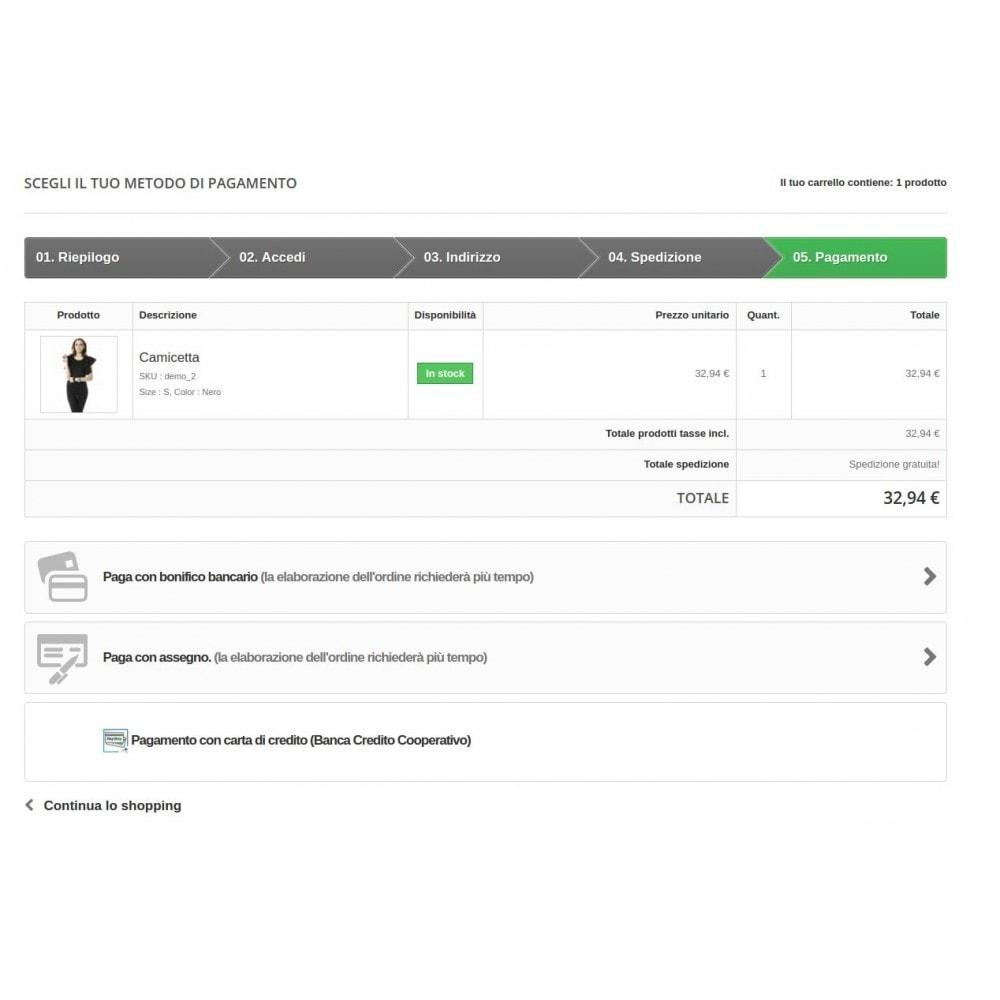 module - Pagamento con Carta di Credito o Wallet - Pagamento Pay Way - 4