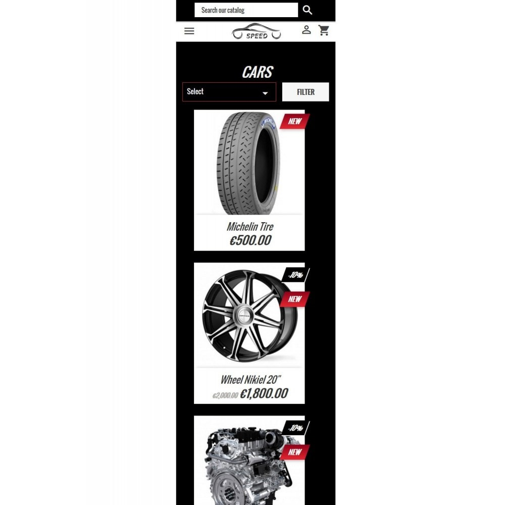 theme - Auto's & Motoren - Speed - Automotive Store - 6
