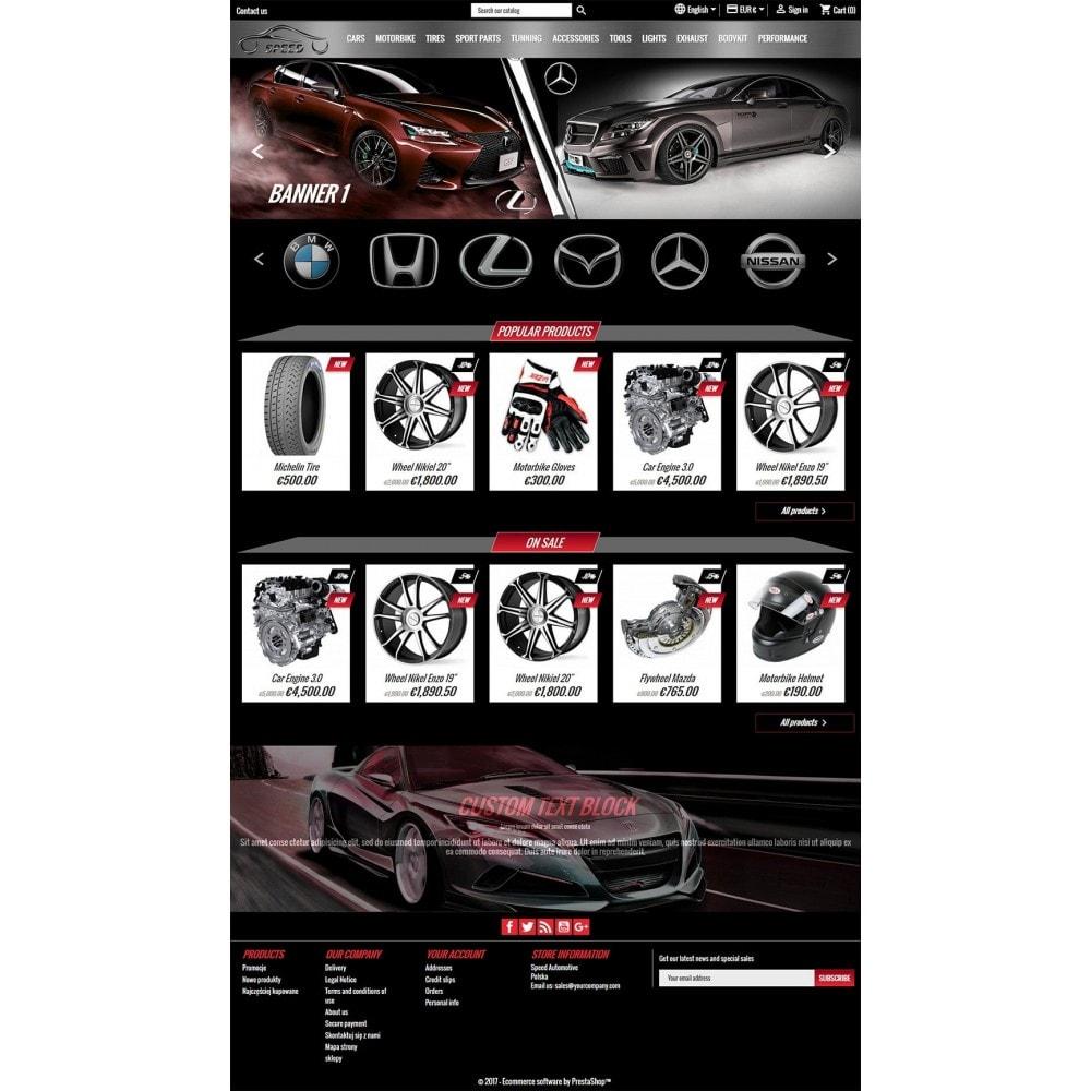 Prędkość - Sklep Motoryzacyjny