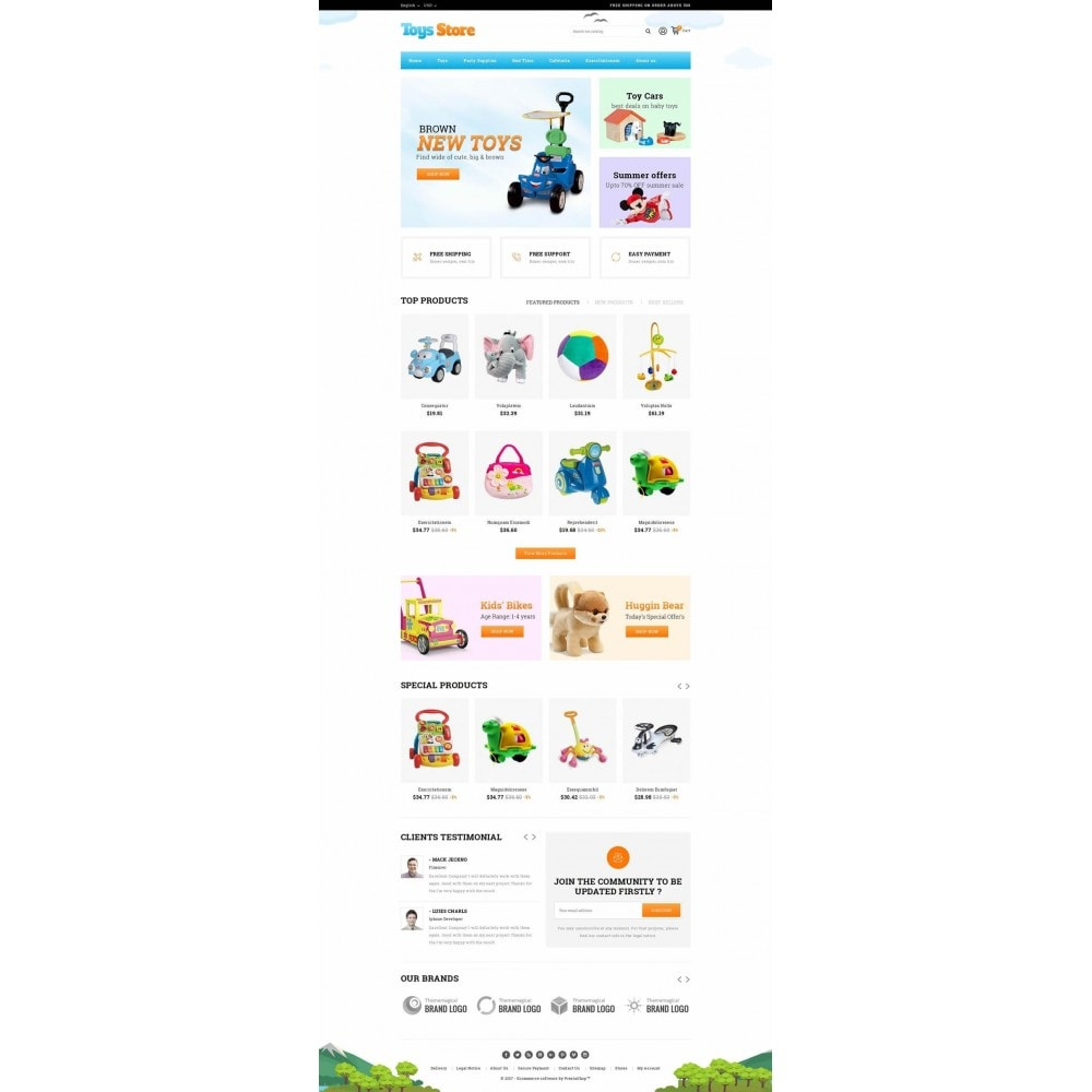theme - Zabawki & Artykuły dziecięce - Toys Online Store - 2