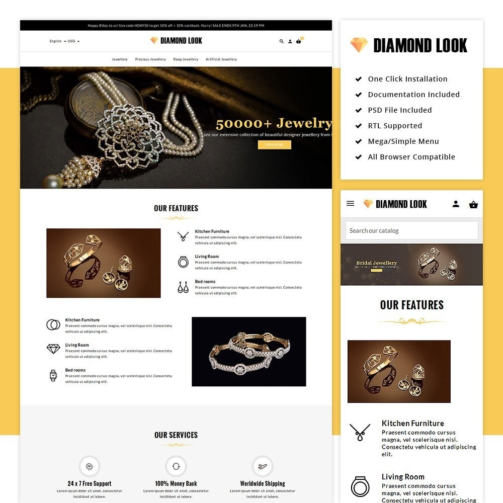 Diamond Look Store