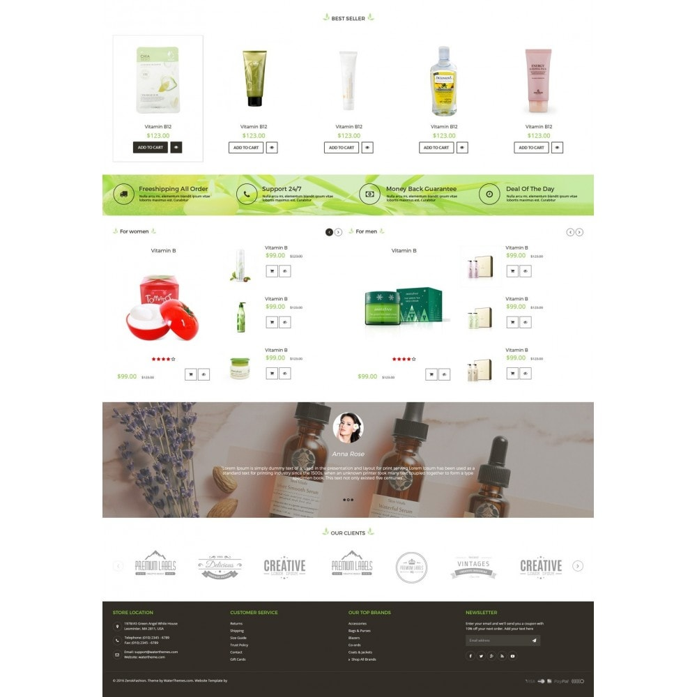 theme - Saúde & Beleza - Beauty Care Bio Medical - 3