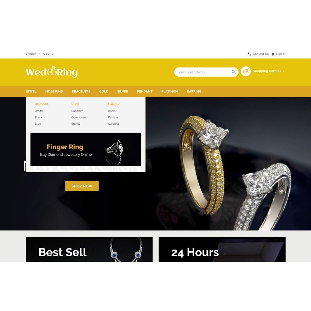 theme - Jewelry & Accessories - Wedding Ring Store - 8