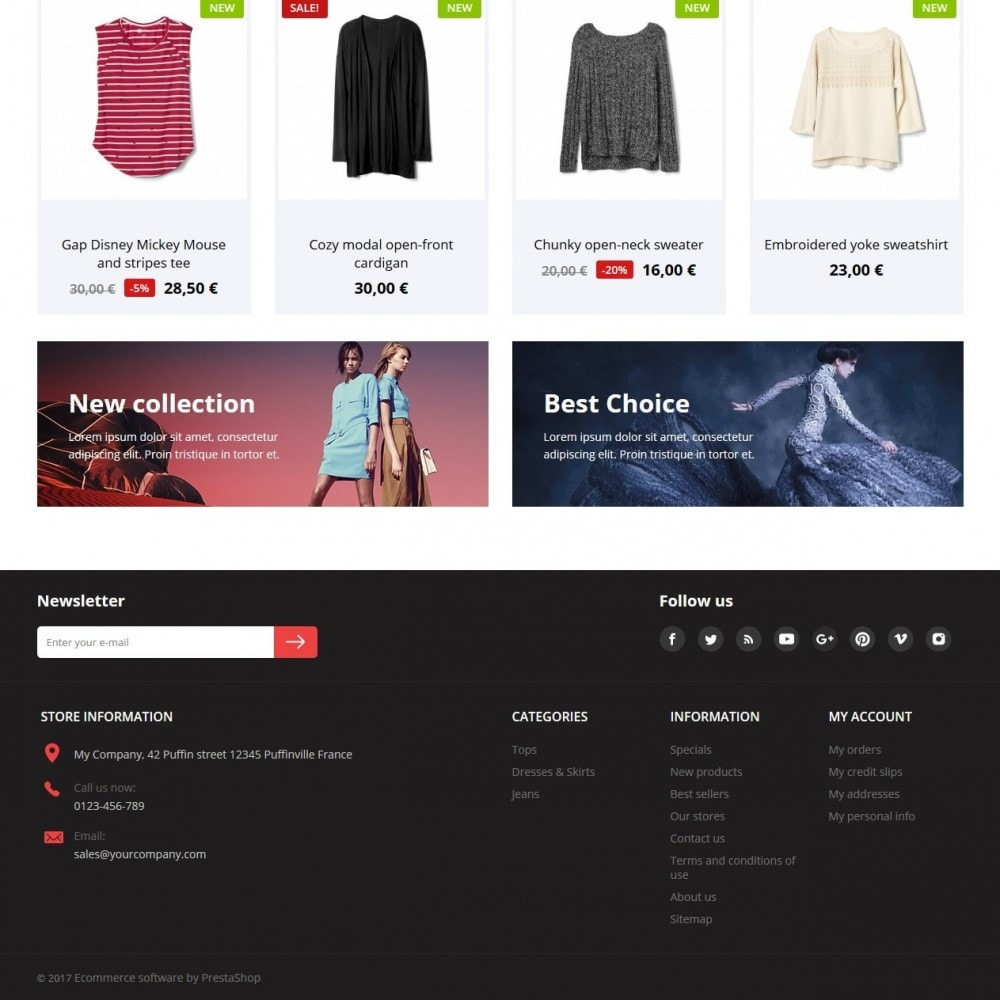 theme - Moda & Calzature - Fashion Clothes - 3