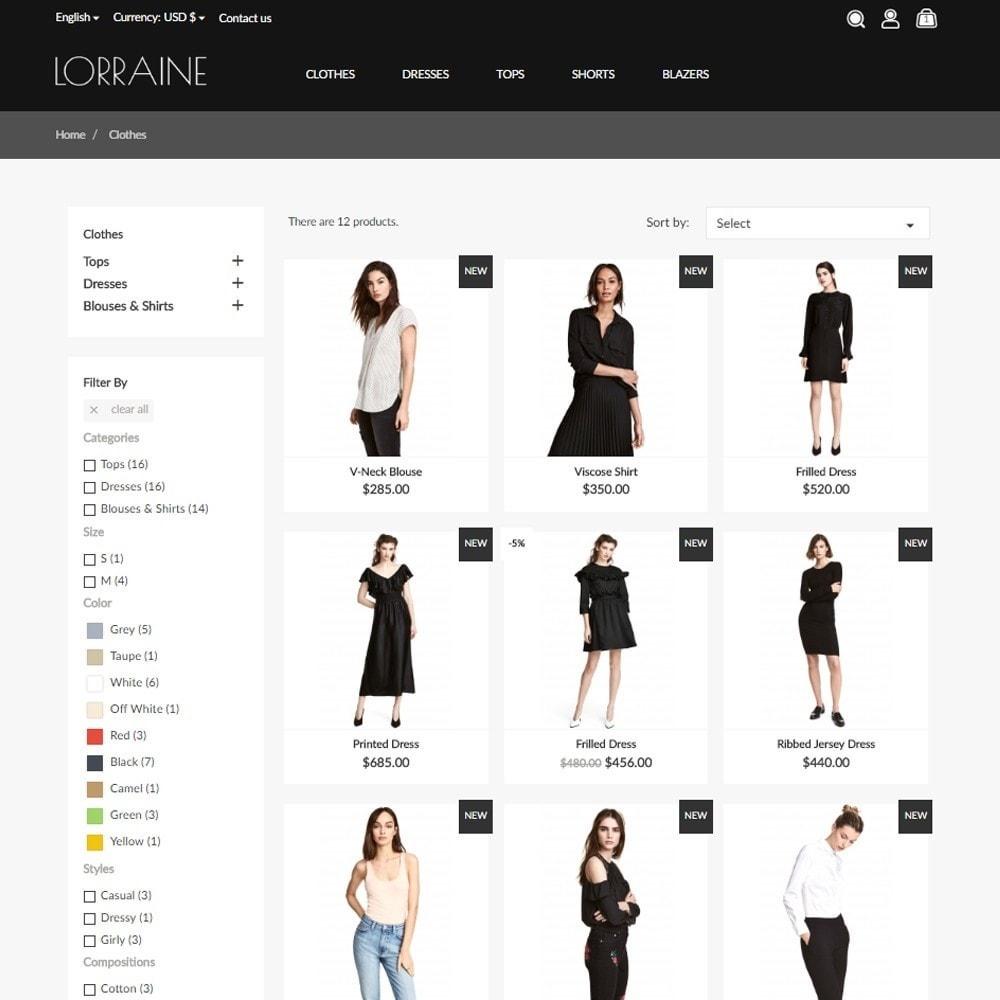 theme - Fashion & Shoes - Lorraine Fashion Store - 5