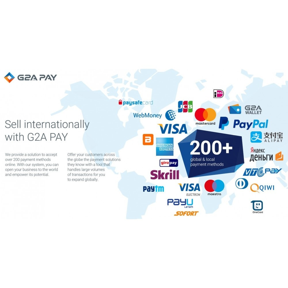 module - Payment by Card or Wallet - G2A PAY - 1