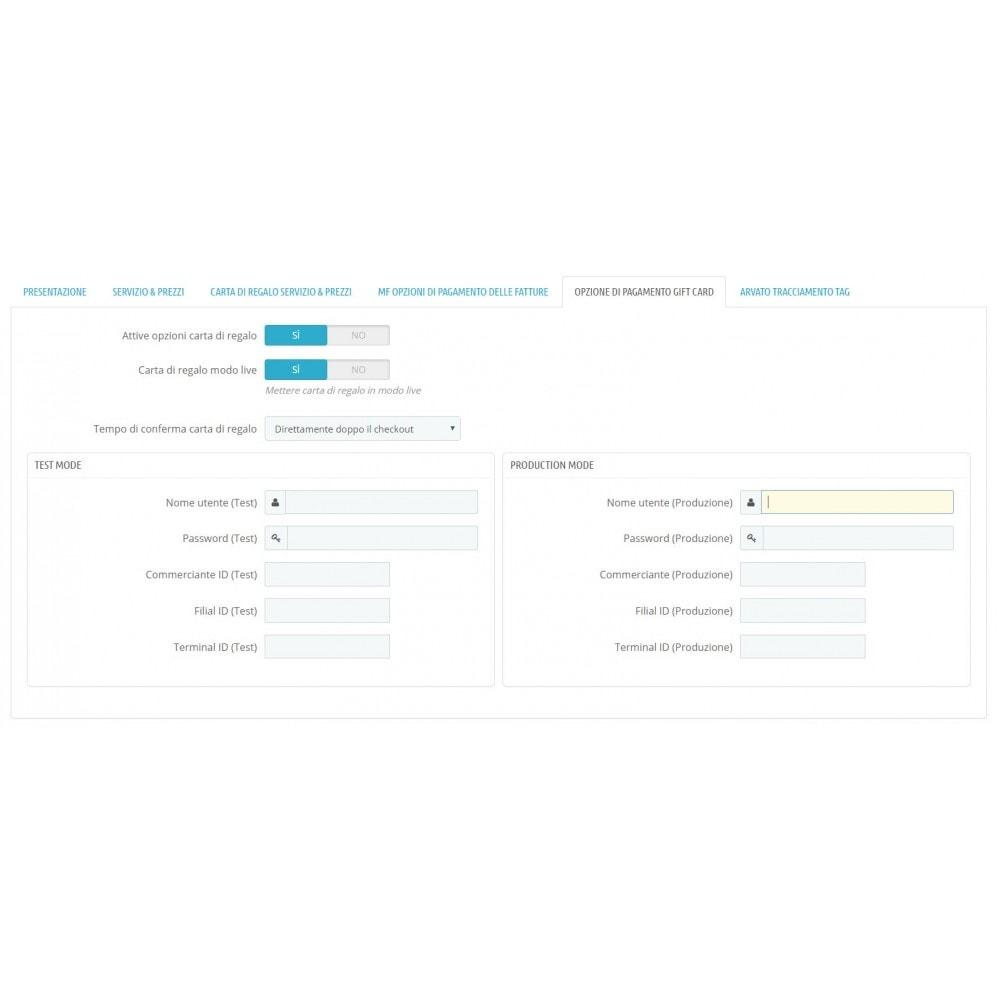 module - Pagamento con Fattura - Acquisto tramite fattura con pagamento parziale - 1