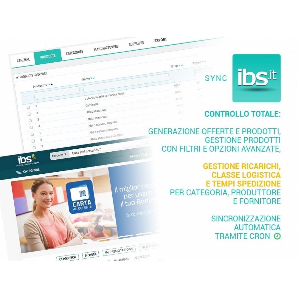 module - Marketplace - Sincronizza con il marketplace IBS.it - 1