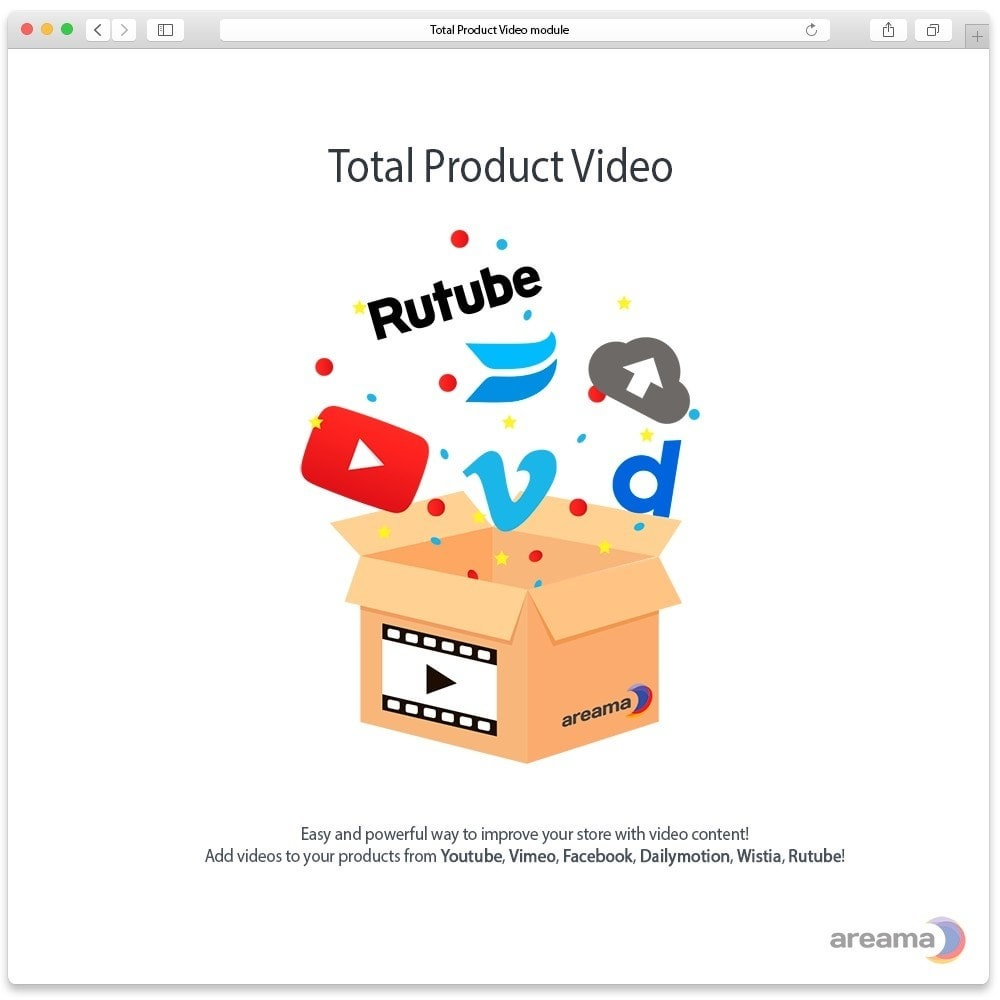module - Wideo & Muzyka - Total Product Video - 1