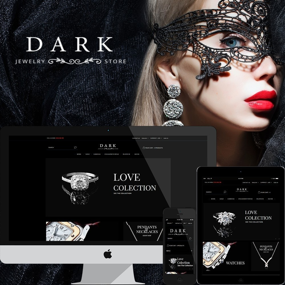 theme - Schmuck & Accesoires - Dark Jewelry - 1