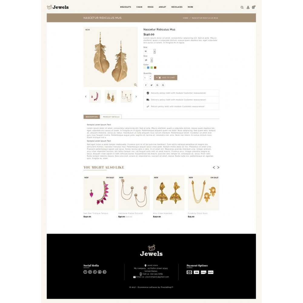 theme - Jewelry & Accessories - Jewels & Fashion Store - 5