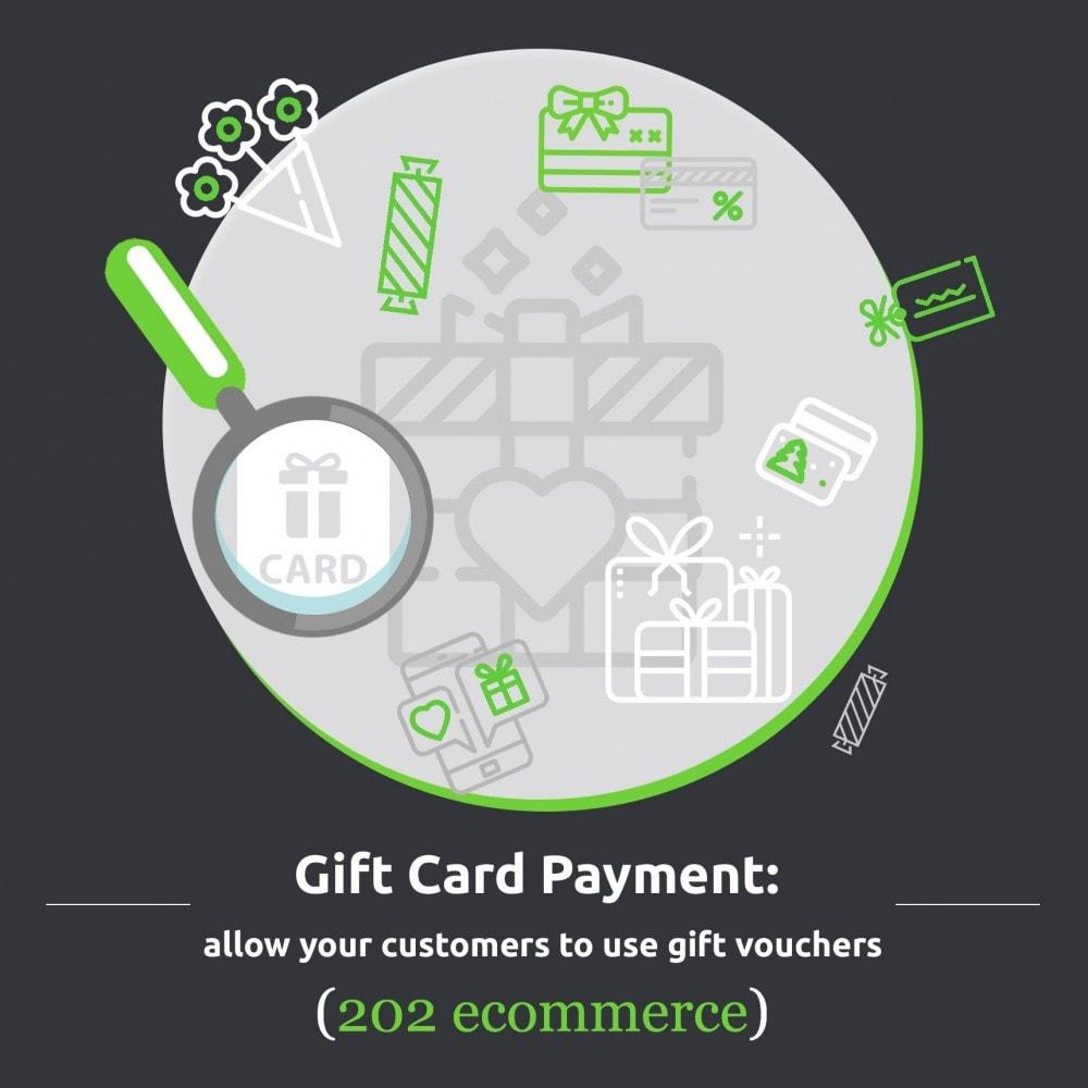 module - Pagamento con Carta di Credito o Wallet - Gift card Payment - 1