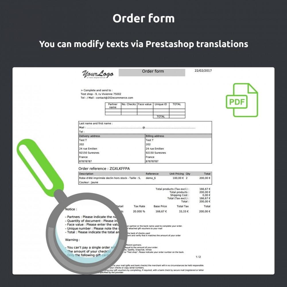 module - Pagamento con Carta di Credito o Wallet - Gift card Payment - 7