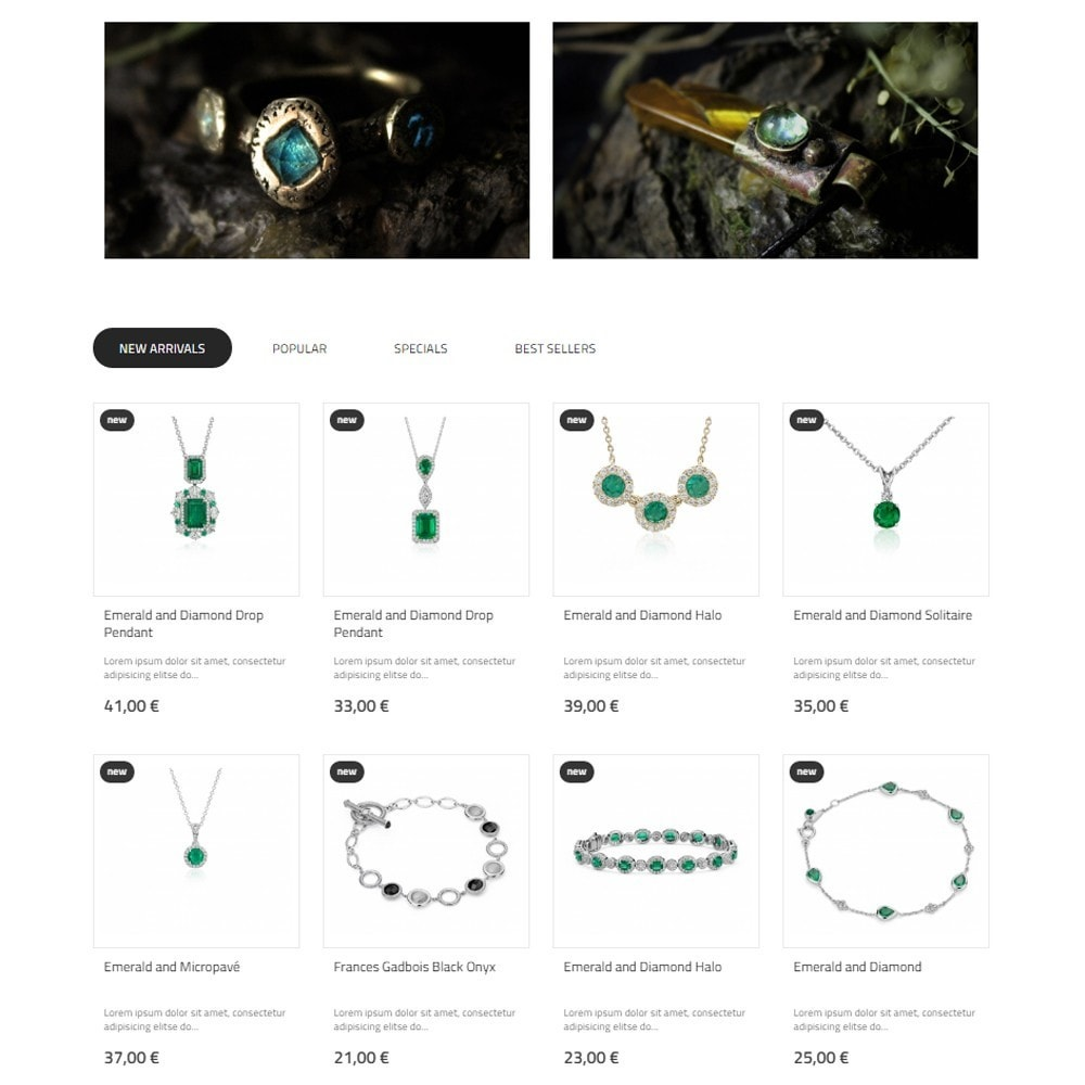 theme - Jewelry & Accessories - Nephrite - Jewelry Store - 6
