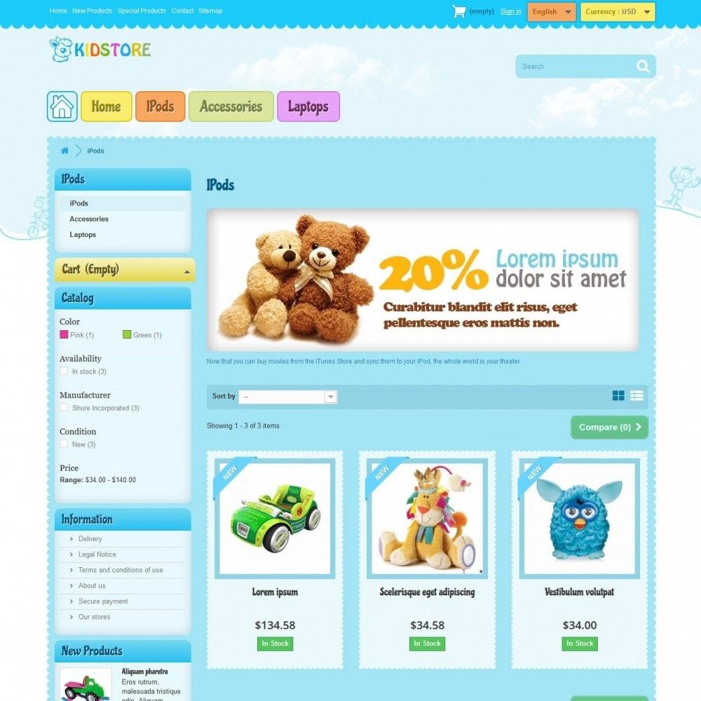 theme - Crianças & Brinquedos - kidstore3.2 - 2