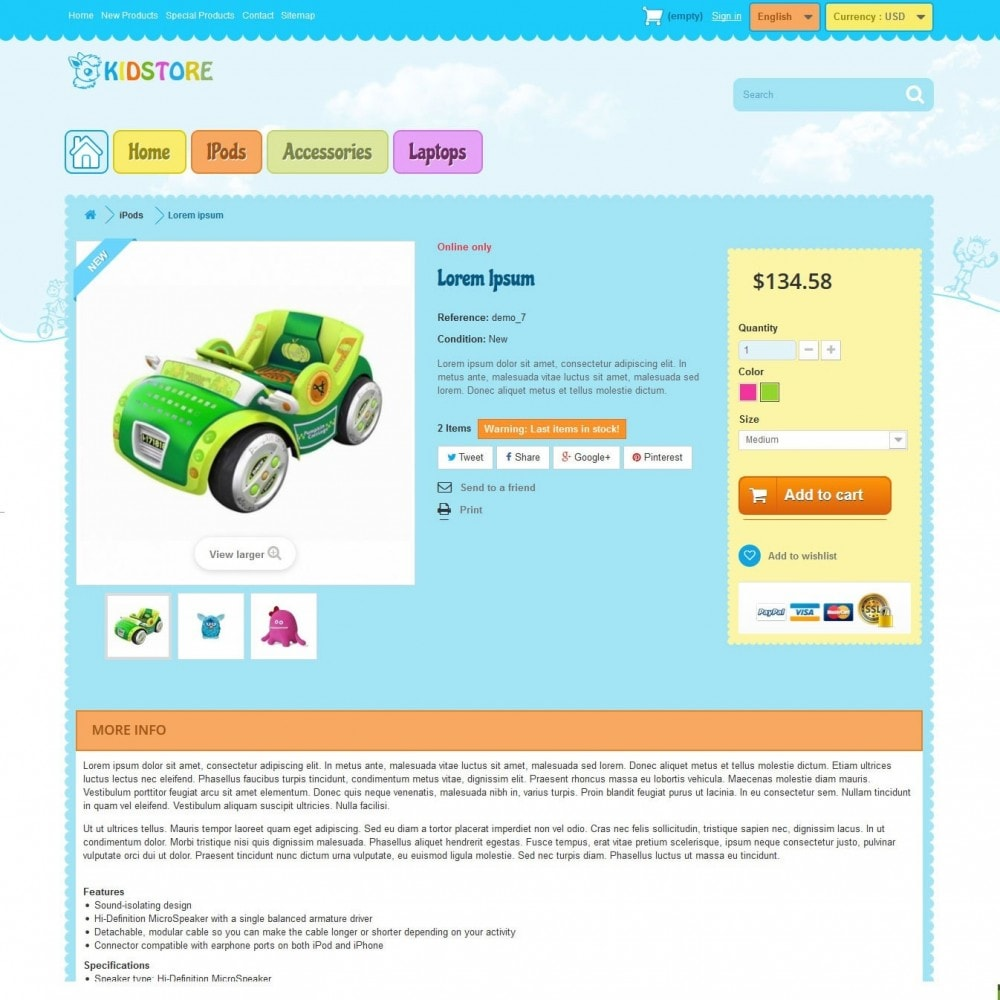 theme - Bambini & Giocattoli - kidstore3.2 - 5