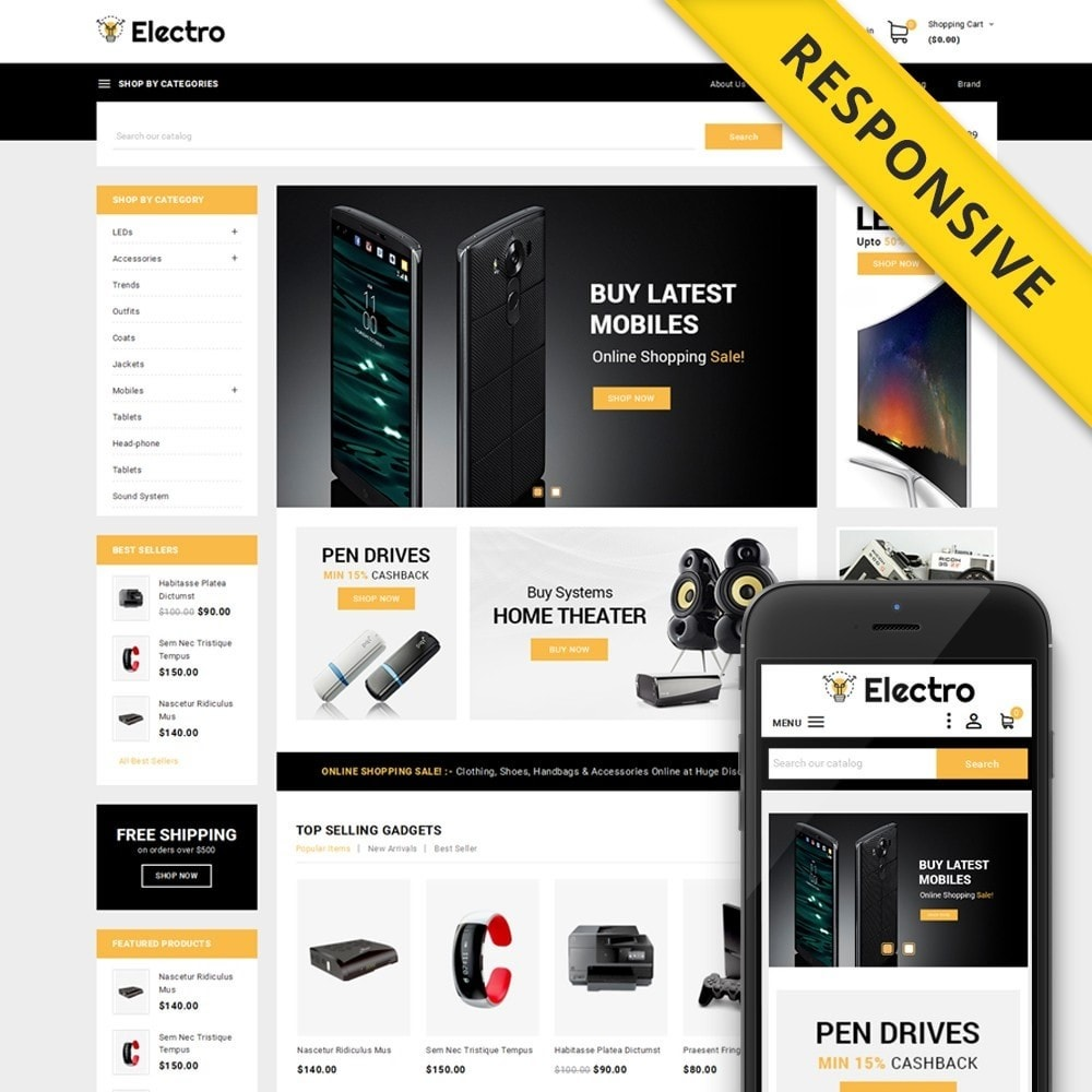 theme - Elettronica & High Tech - Electro - Best Online Store - 1