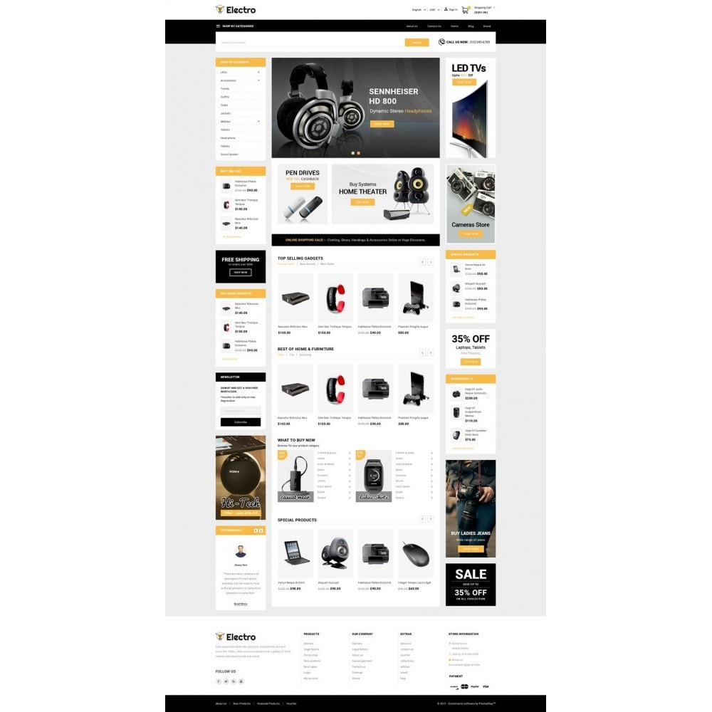 theme - Electronique & High Tech - Electro - Best Online Store - 2