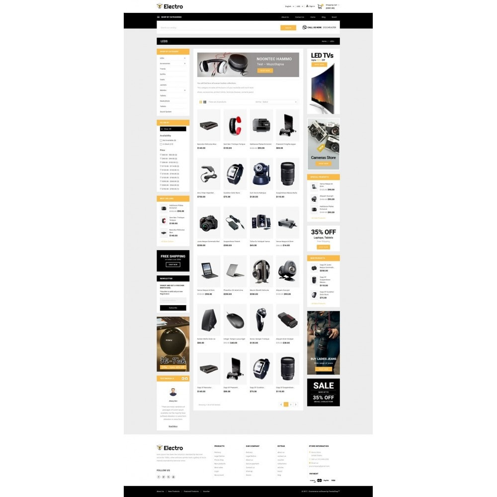 theme - Elettronica & High Tech - Electro - Best Online Store - 3