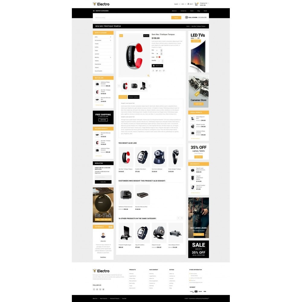 theme - Elettronica & High Tech - Electro - Best Online Store - 5
