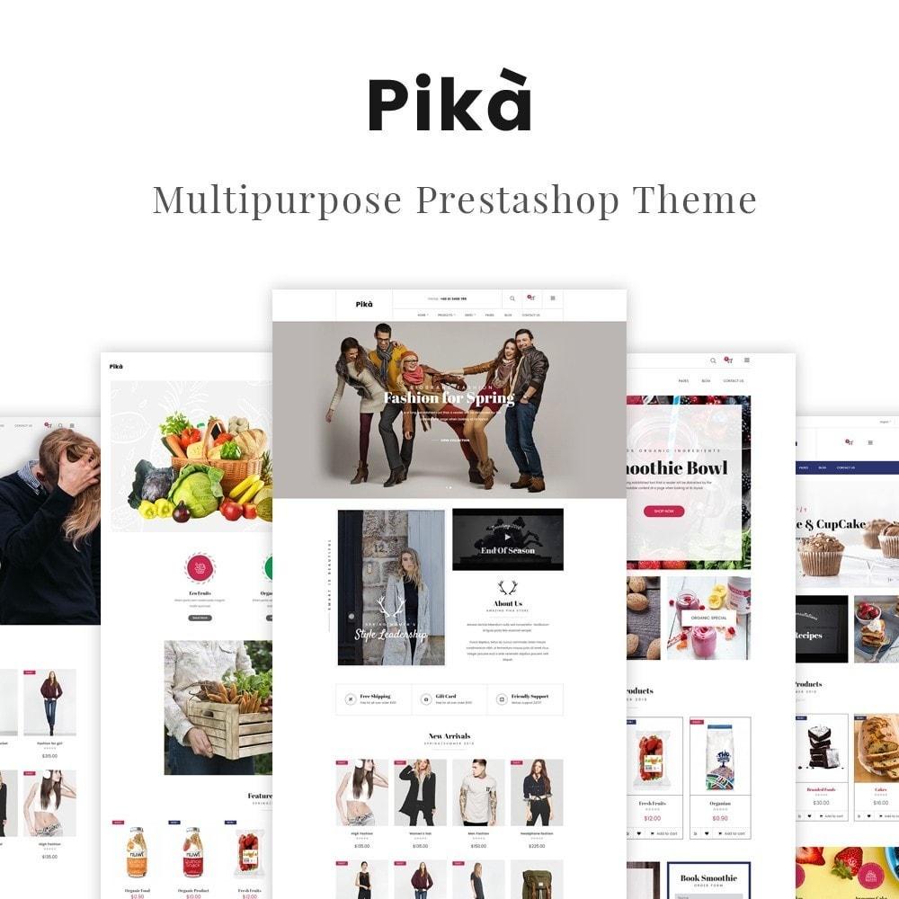 theme - Moda y Calzado - JMS Pika - 1