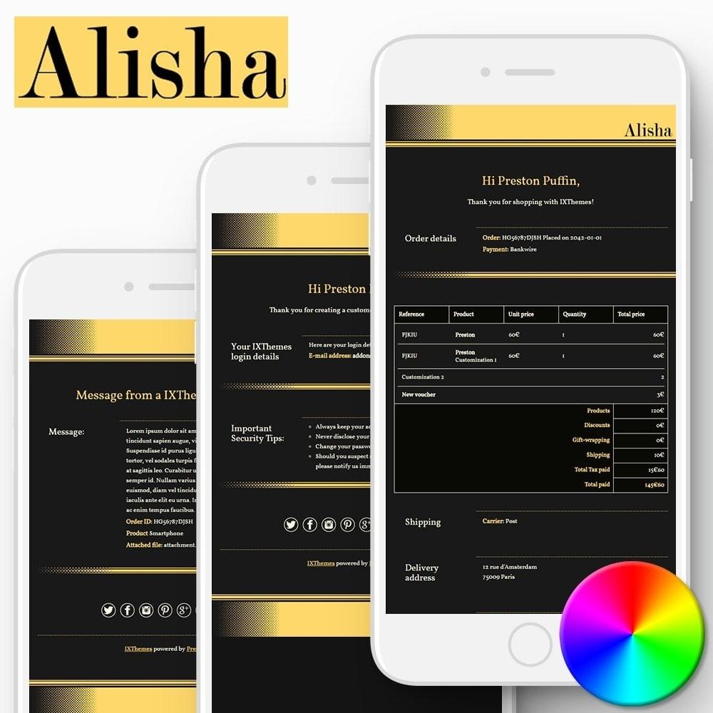 Alisha - Email templates