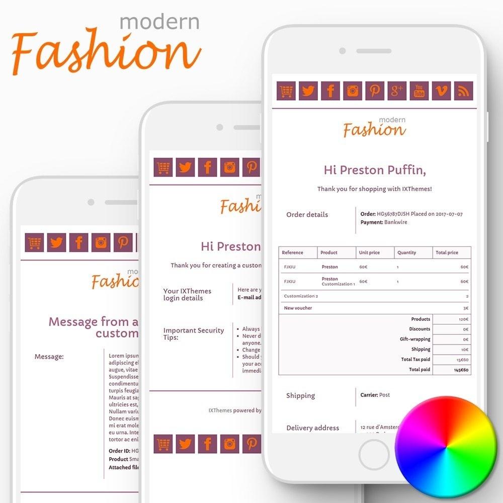 Modern Fashion - Email templates