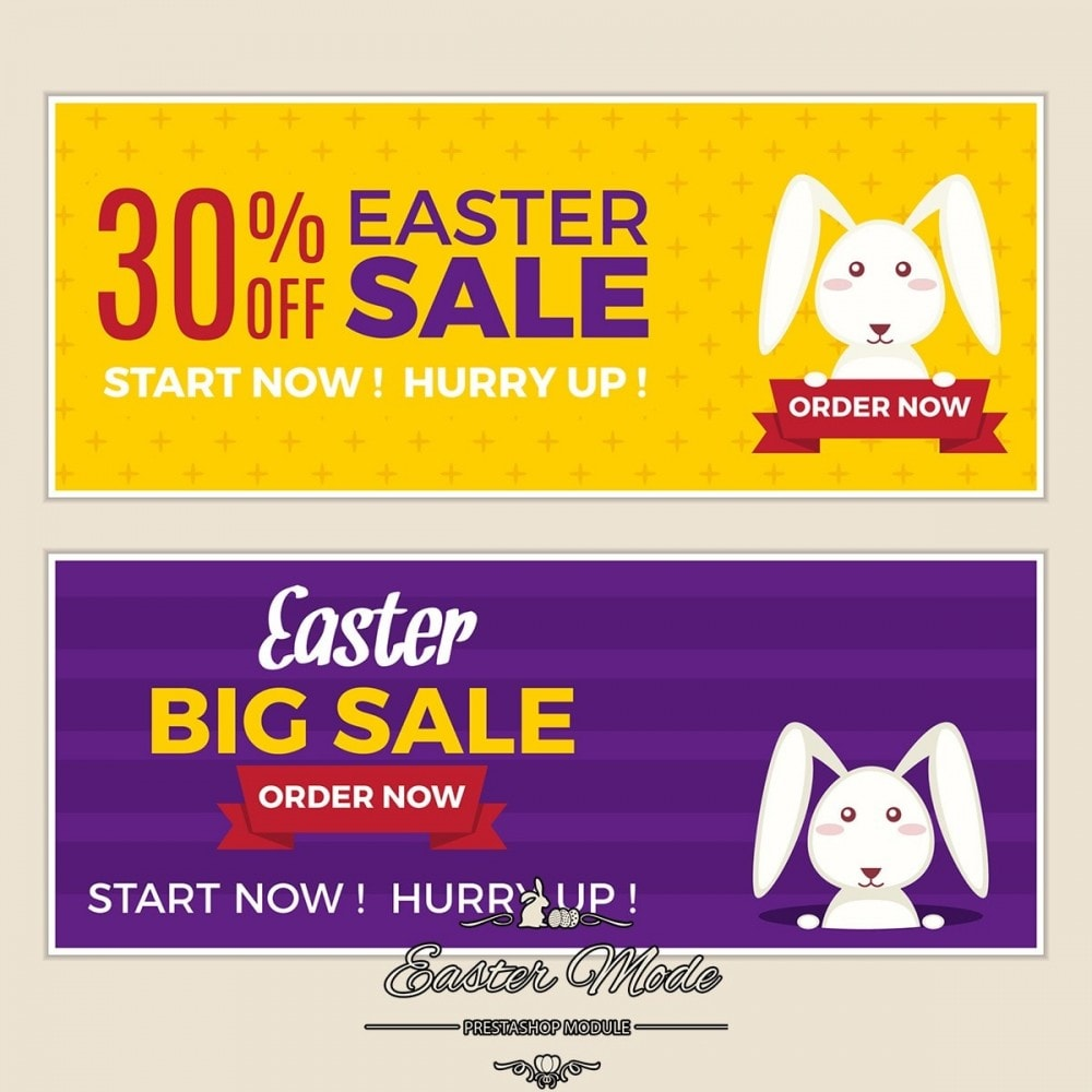 module - Page Customization - Easter Mode - Theme customizer - 20