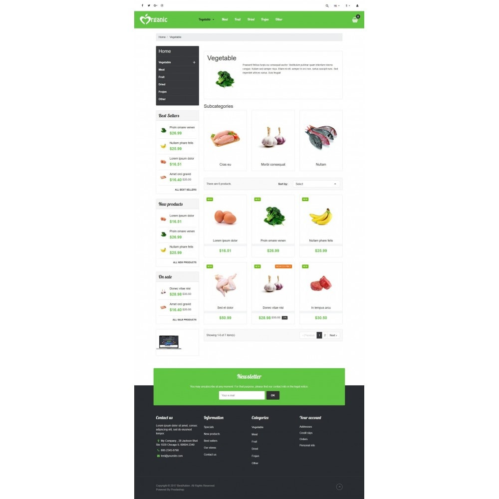 theme - Food & Restaurant - VP_Organic Store - 3