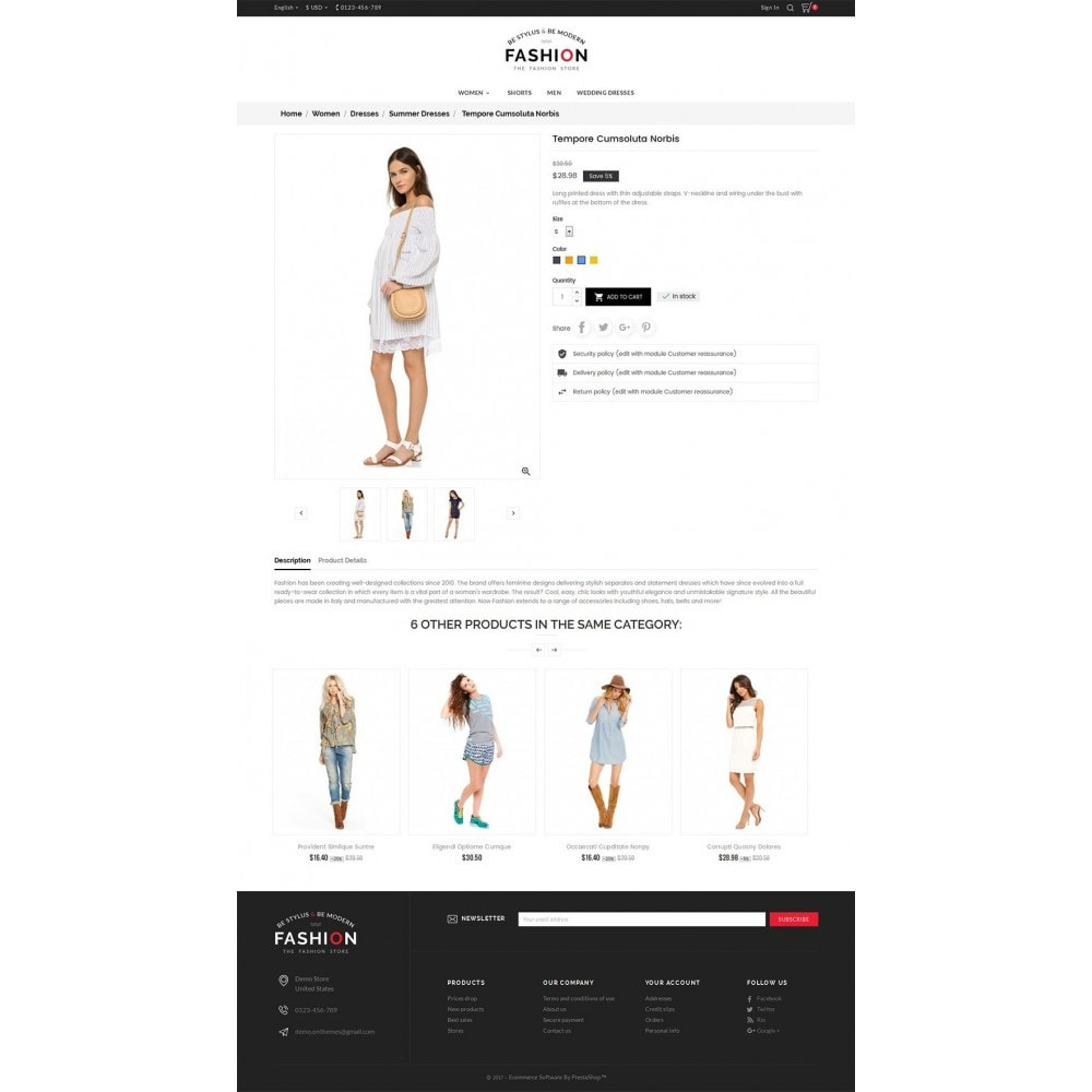 theme - Fashion & Shoes - Fashion Store - 5