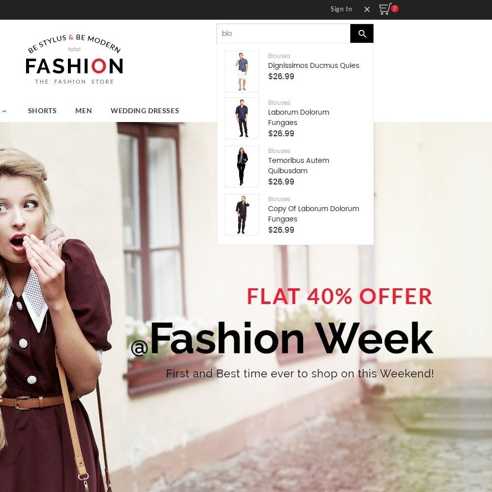 theme - Fashion & Shoes - Fashion Store - 9