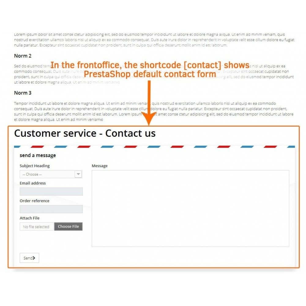 module - Formulaires de Contact & Sondages - Contact form in CMS pages - 3
