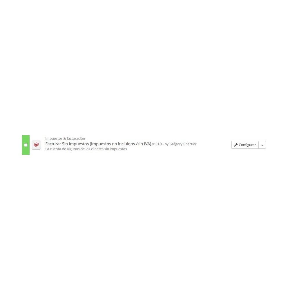 module - Contabilidad y Facturas - Facturar Sin Impuestos (Impuestos no incl /sin IVA) - 4