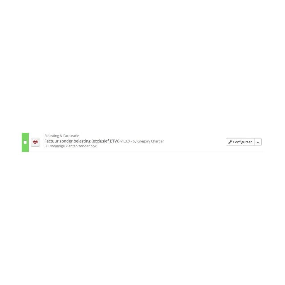 module - Boekhouding en fakturatie - Factuur zonder belasting (exclusief BTW) - 3