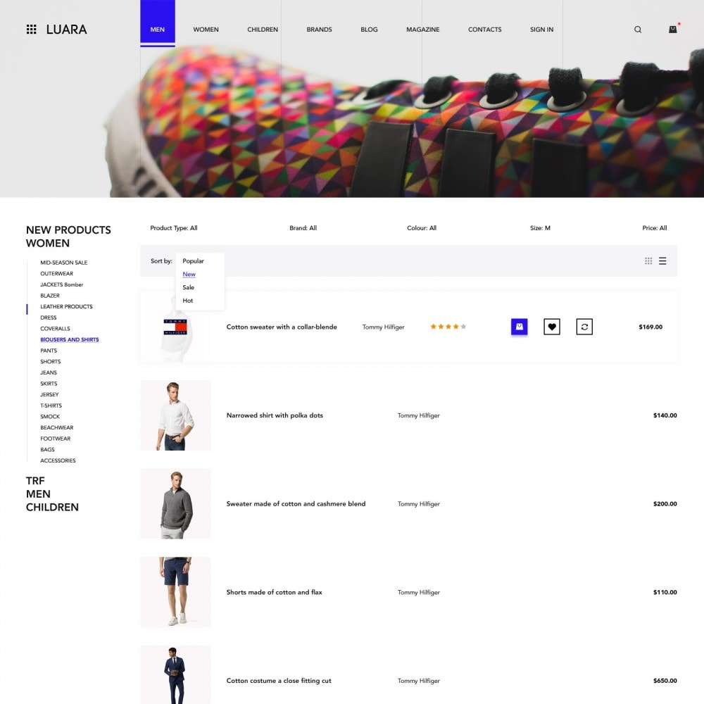 Laura - Clothing Store