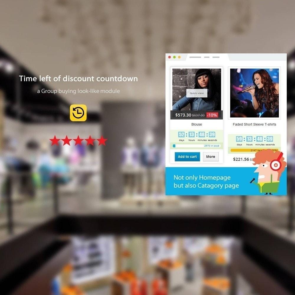 module - Закрытых и рекламных распродаж - SOO Countdown Discounts - 5