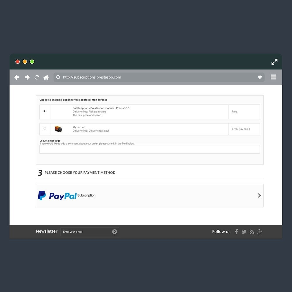 module - Pago recurrente (abono) - SOO Paypal Subscriptions & Recurring Payment - 3